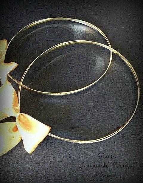 Wedding - Stefana wedding crowns Greek Wedding Crowns.Orthodox ceremony Crowns Wedding Crowns for Orthodox wedding Bridal Crowns greek crowns EFROSYNI