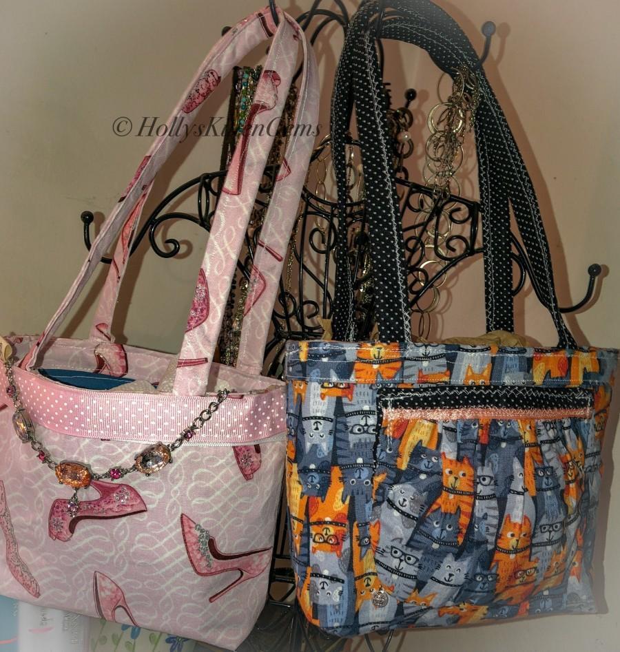 Wedding - Custom mini Tote , handbag , handmade You Personalize