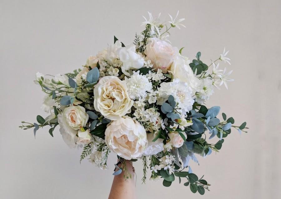 زفاف - Wedding Bouquet, Wedding Flowers, Silk Flower Bouquet, Silk Flowers, Bouquet, Flower Bouquet, Bridal Bouquet, The Faux Bouquets