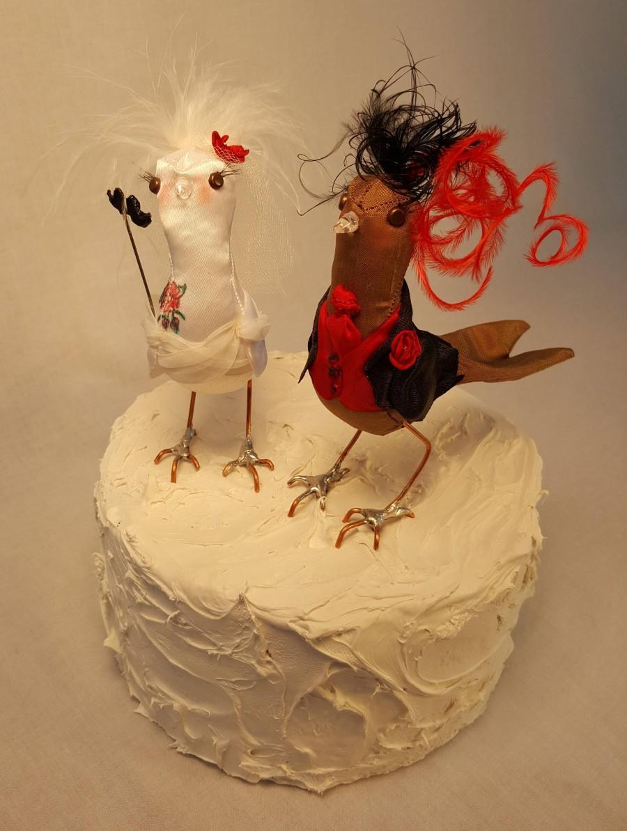 زفاف - Wedding Cake topper birds FerdiBirds
