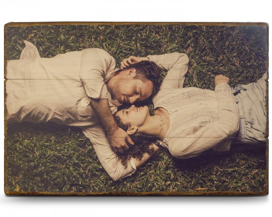 Wedding - Photo on Wood Photo Pallet Photo Gifts Picture on Wood Personalized Gifts Prints on Wood Wood Picture Wood Print Mother's Day Gifts