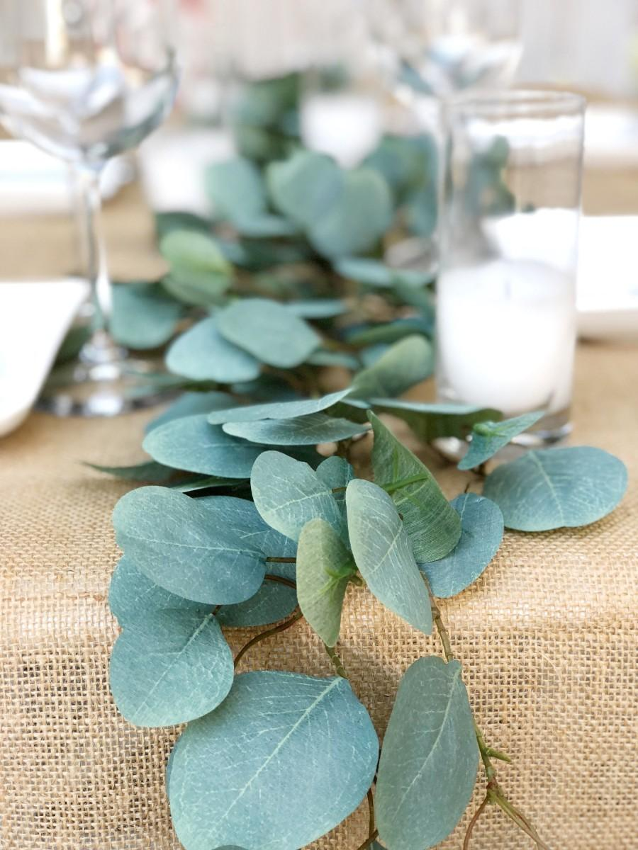 Wedding - Artificial Eucalyptus Greenery Garland