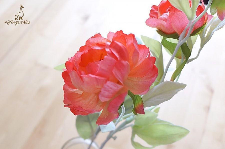زفاف - Mini Coral Red Peony (FB0062-01)