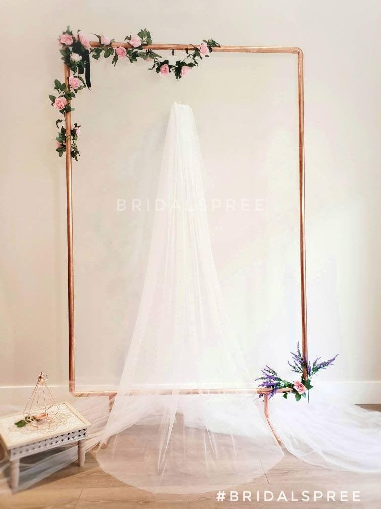 زفاف - SOFT Floor Veil/ Chapel Veil