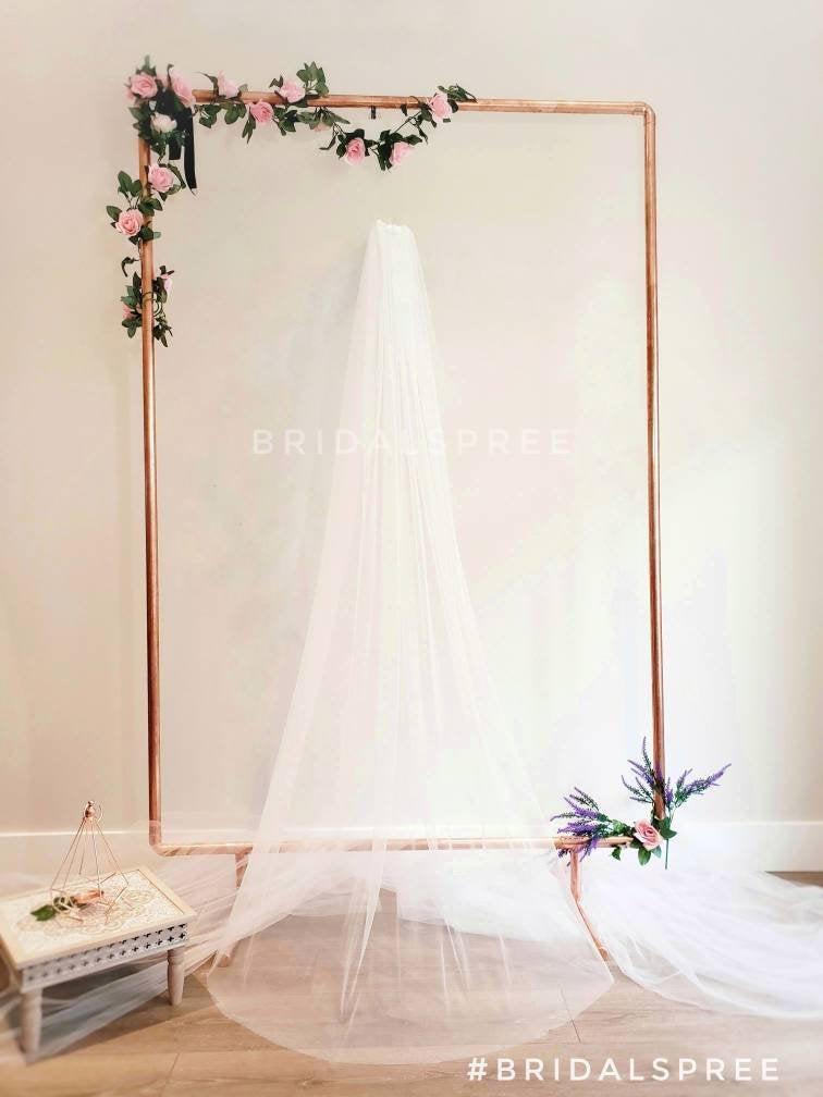 Mariage - SOFT Floor Veil/ Chapel Veil