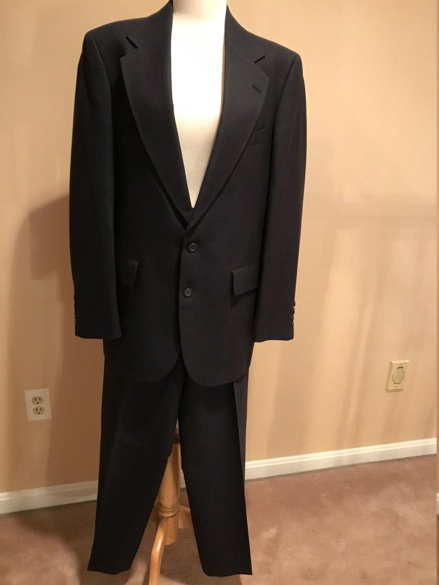 Wedding - Vintage 1980s Men's 2-Piece Suit