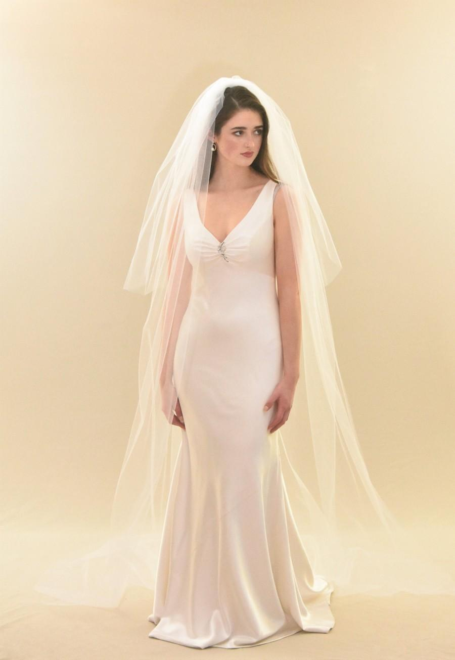 زفاف - Fullness Cathedral Veil with Blusher
