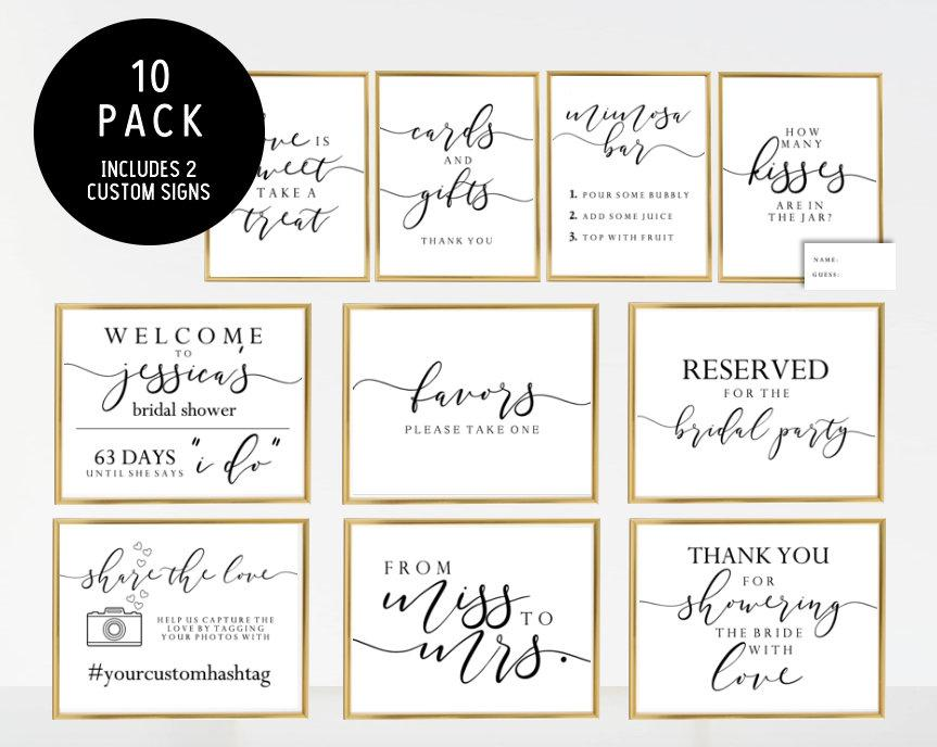 Mariage - 10 Pack