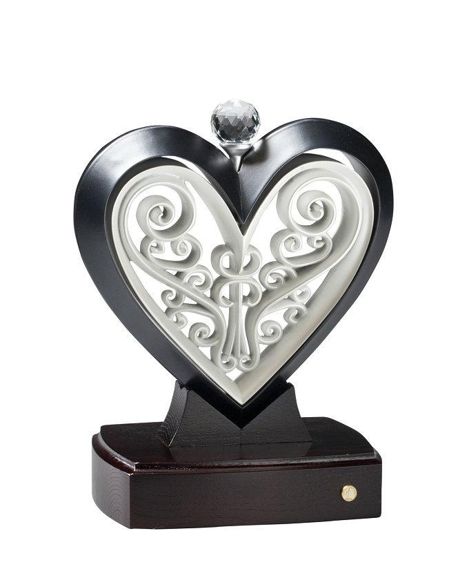 Hochzeit - The Unity Heart® Artist Series Black and White