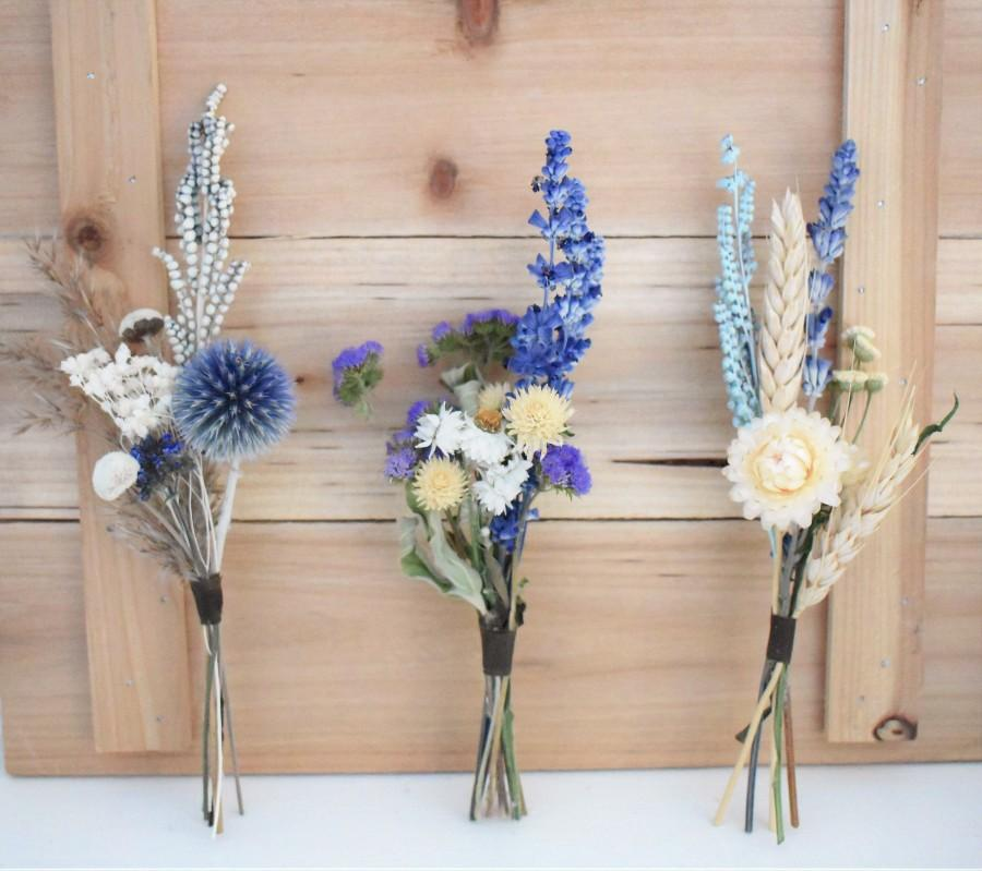 Mariage - Small Dried Flower Bunches for Table Decor, Place Settings, Bud Vase Flowers, Centerpieces, Crafts. Tablescapes for All Occasions!