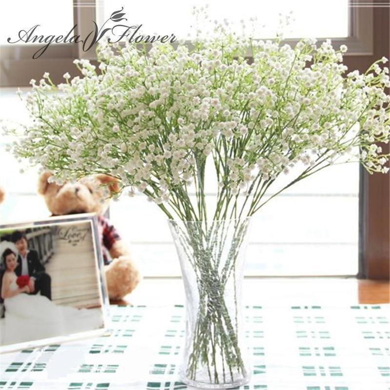 زفاف - Artificial Baby's Breath Bouquet / Silk Filler Flowers for Wedding Bouquet / Gypsophilia for Bridesmaid Arrangment
