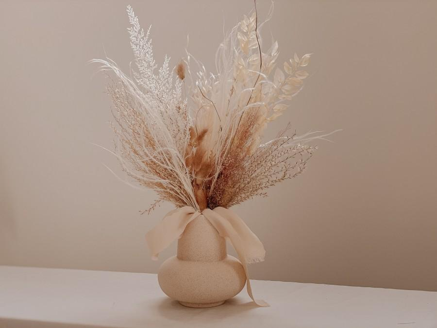 Hochzeit - The Pampas and Prairie Bouquet / Pampas Grass Dried Grasses Bouquet / Dried Flower Bouquet / Boho Bridal Bouquet