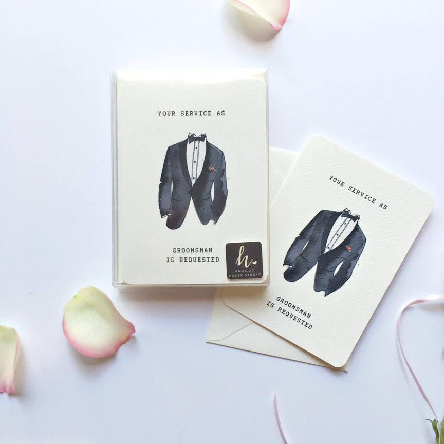 Wedding - Groomsmen proposal card, Will you be my groomsman, Will you be my Best Man, Groomsman Proposal, best man invitation, Choose your set