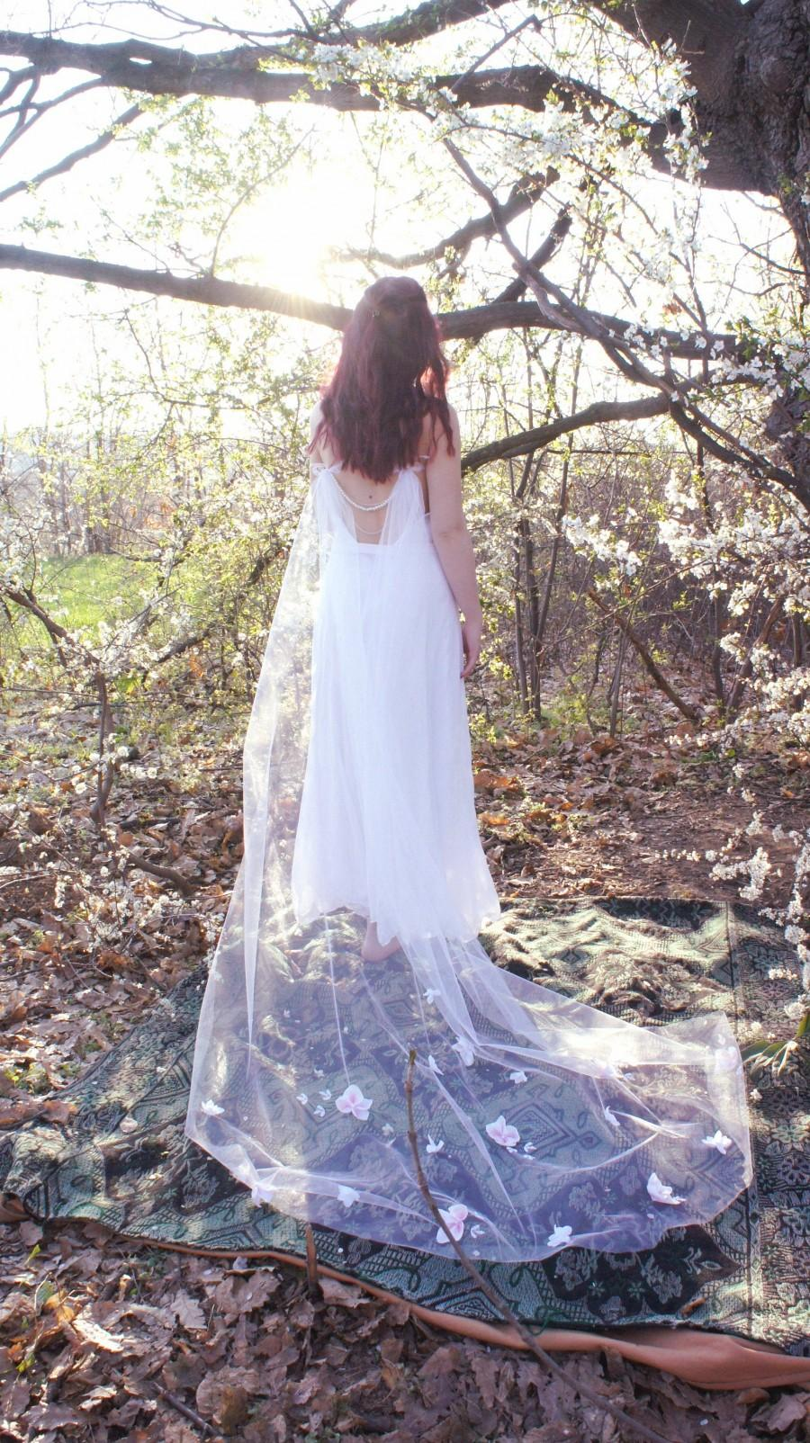 Mariage - Bridal cape veil, Tulle cape veil, Bridal mesh cover up, Bridal separates, Bridal capelet, Shoulder wedding veil, Wedding dress cape veil