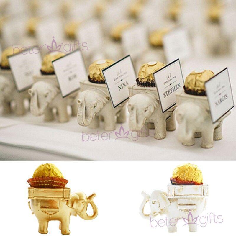 زفاف - BeterWedding Lucky Elephant Chocolate Candy Holder Bridal Shower favor SZ040