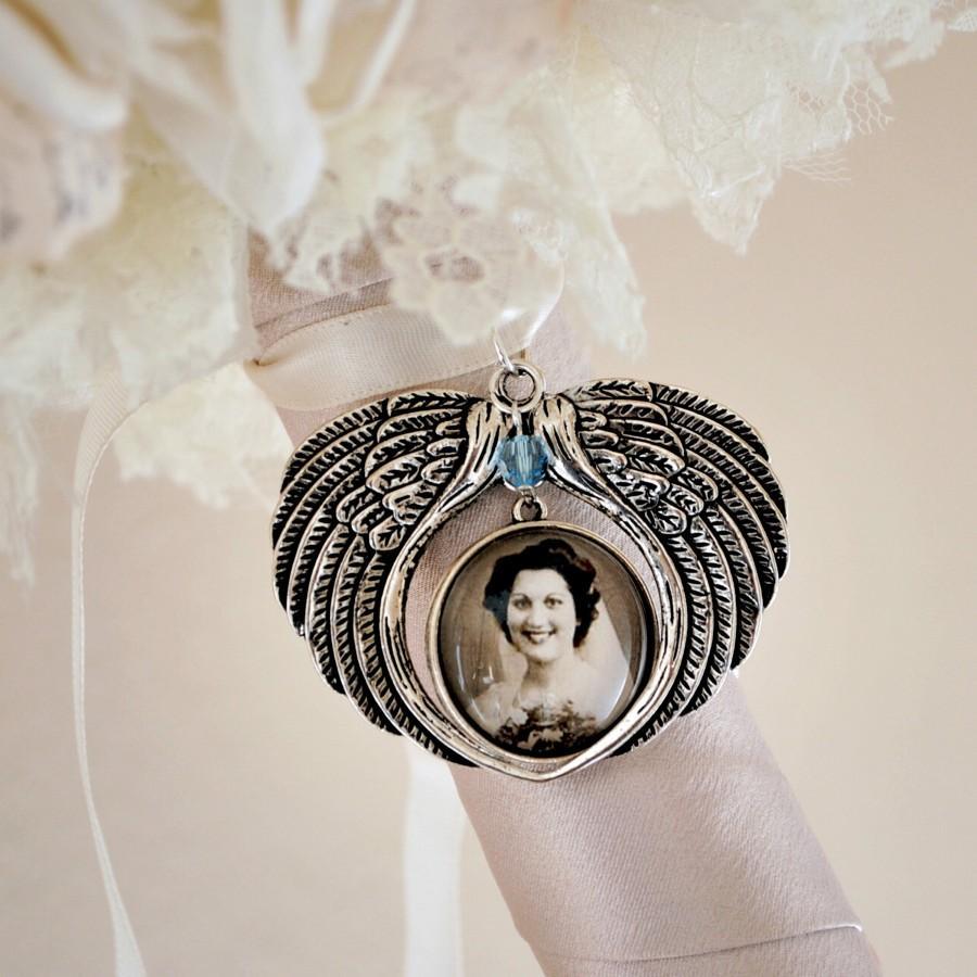 Mariage - Personalized Bridal Bouquet Charm, Wedding Bouquet Charm, Bridal Keepsake