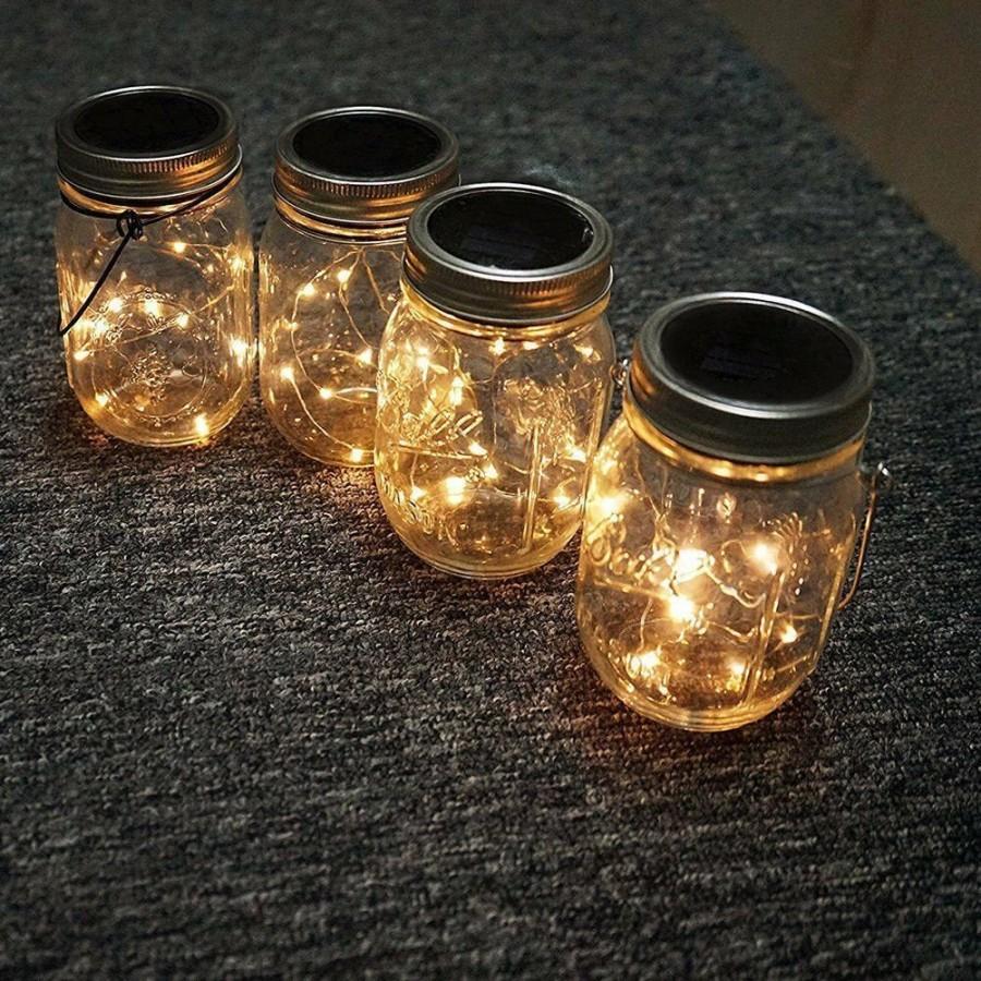 Свадьба - Value Pack of 20 LEDs Fairy Lights, Wedding Decorations copper lights, LED Mason Jar light, firefly Lights, fairy lights