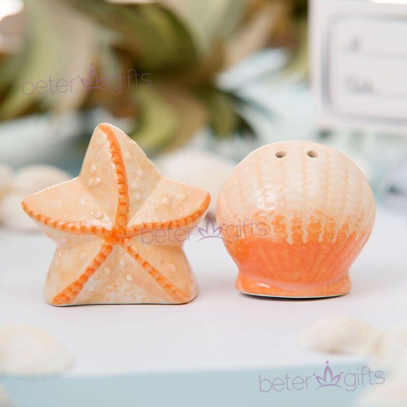 Mariage - BeterWedding Summer Baby Boys Birthday Salt and Pepper Shakers Gifts TC001
