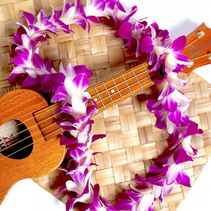 Hochzeit - Hawaiian Lei - Flower Lei, Fresh Purple Orchid Lei. Fresh Lei From Hawaii. Graduation Lei - Wedding Lei