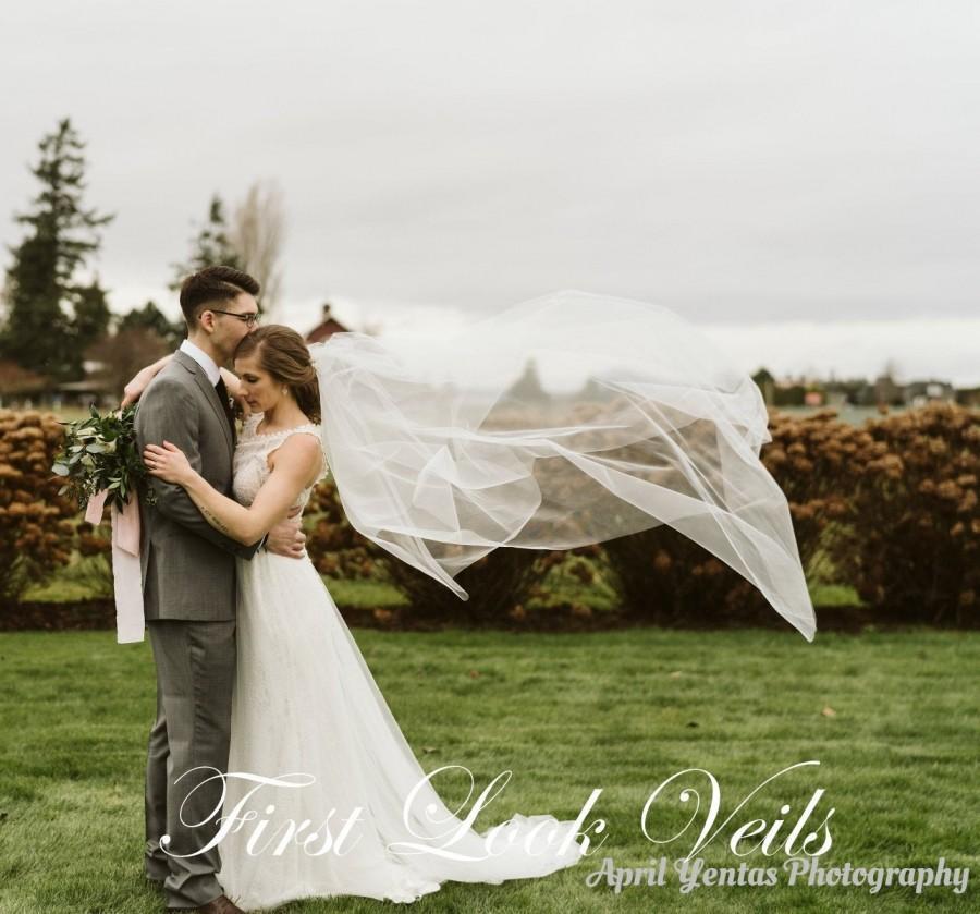 Mariage - Wedding Veil, Bridal Vail, Ballet Vale, 30 inch Drop Veil, Long Veil, Short Veil, White Veil, Ivory Veil, Black Veil,Pink Veil, Blue Veil