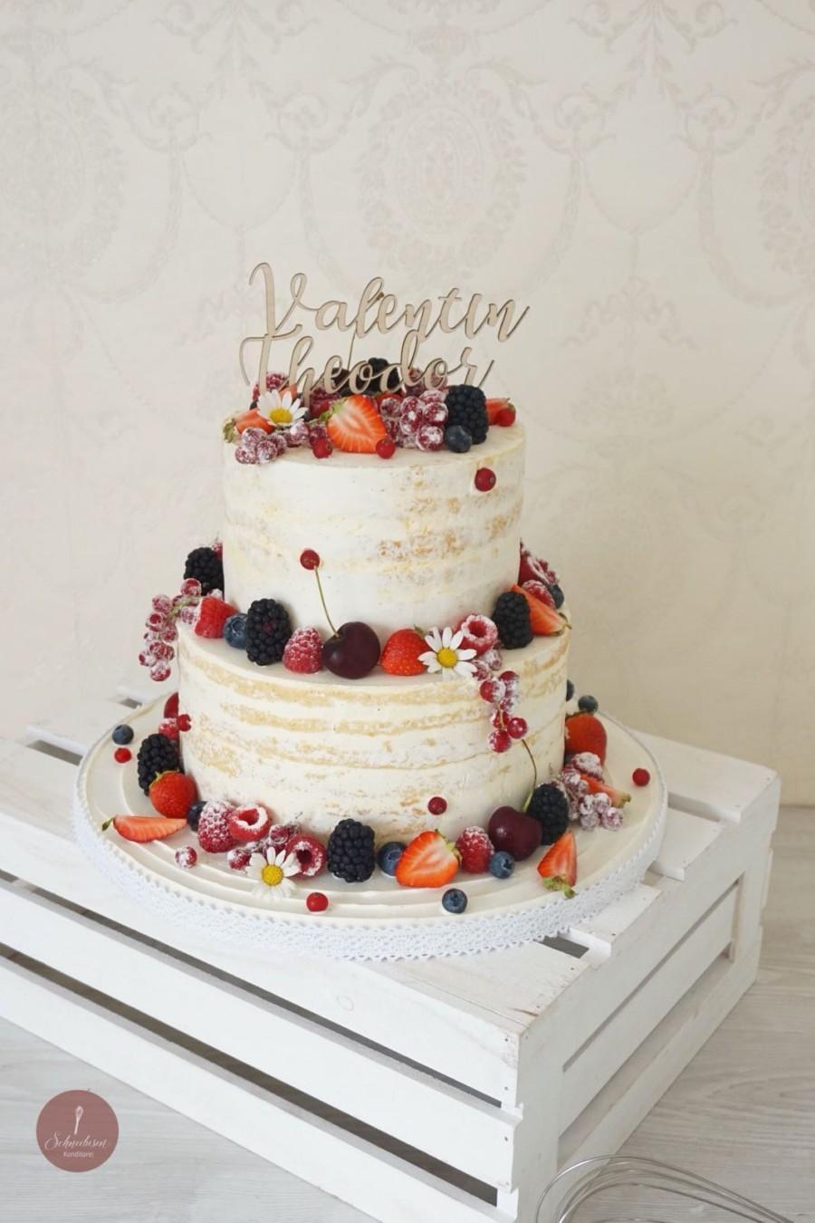Mariage - Custom Wedding Cake Topper - Cake Topper - Cake Topper