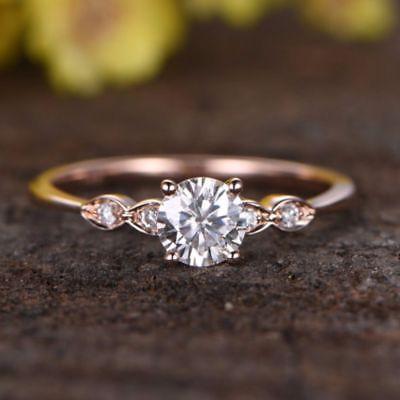 Mariage - Buy 1.5 ct Rose Gold Moisanite Ring (Free Shipping)