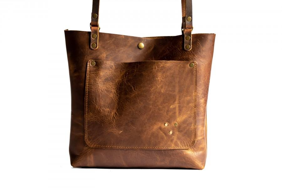 زفاف - Limited Edition Leather Tote Bag