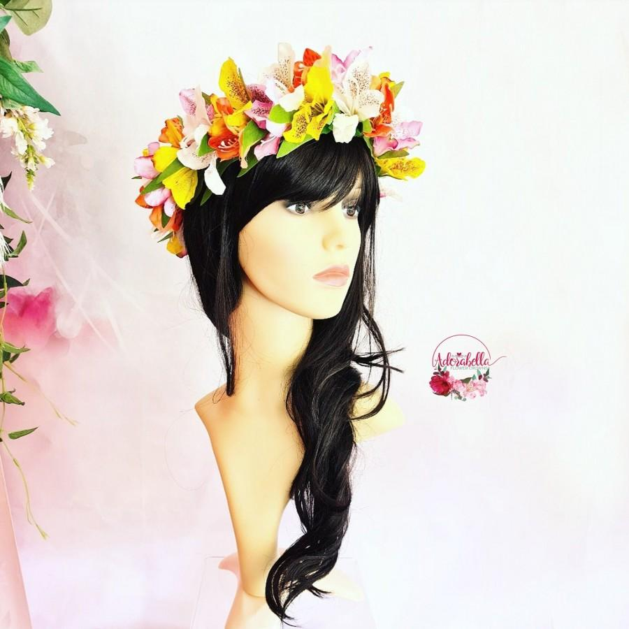 زفاف - Tropical Flower Crown