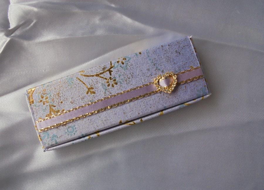 زفاف - Lilly - Rectangular Favour Box