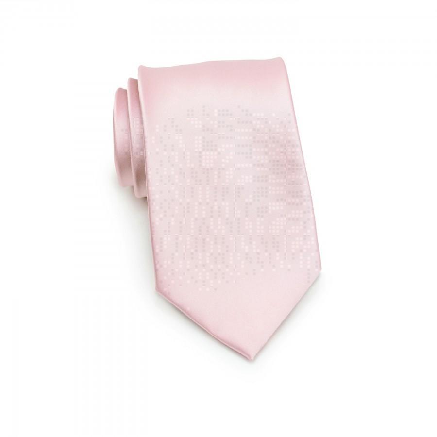 Hochzeit - Blush Necktie