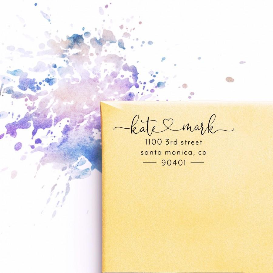 Wedding - Return Address Stamp