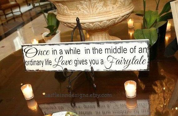 زفاف - Fairytale Wedding Sign