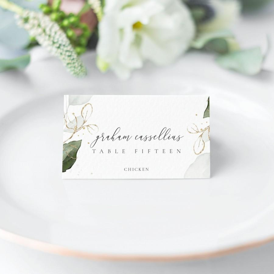 Mariage - Rustic Wedding Place Cards Template