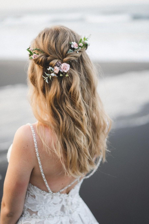 Mariage - Bridal hair vine, Extra long flower hair vine, Flower Hair comb, Wedding hair pieces for bridesmaid
