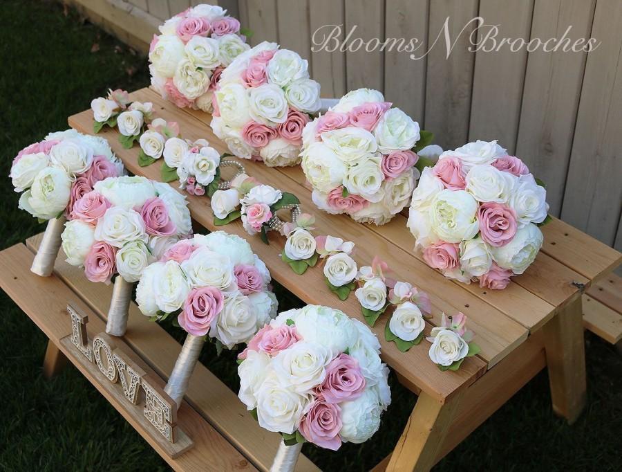 زفاف - Wedding Bouquet, Wedding Flowers, Bridesmaid Bouquets, Corsage, bridal Flower Package