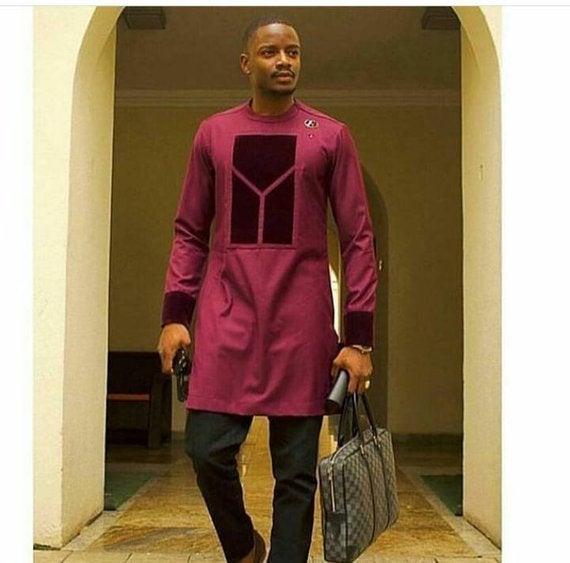Wedding - African men's clothing, African clothing for men, African men's suit, African Dashiki suit, African women's clothing, African men fashion
