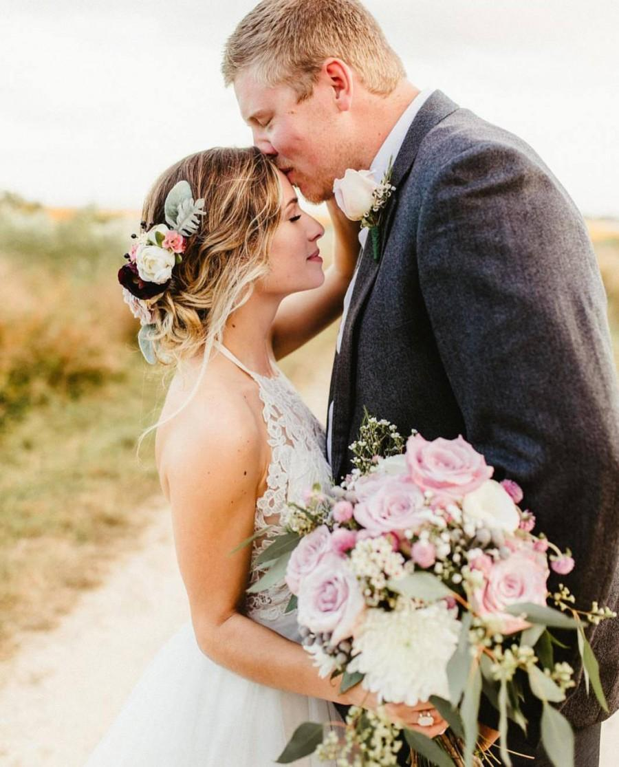 Wedding - Custom Flower Comb