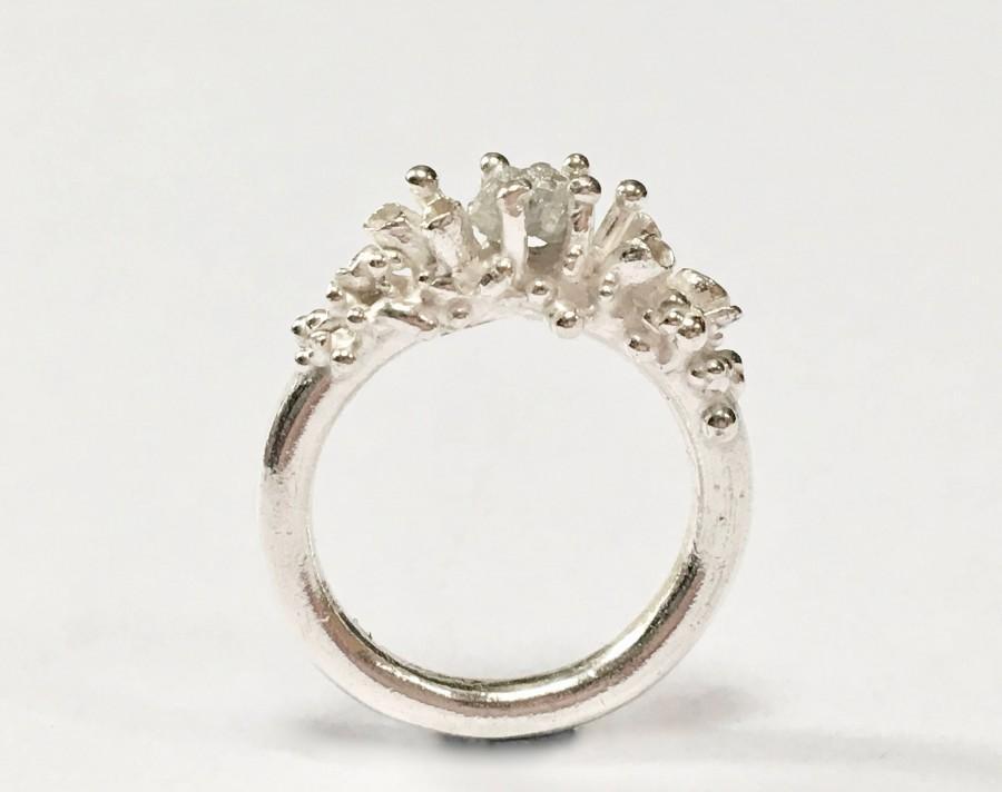 Wedding - FREYJA Rough Diamond Engagement Ring