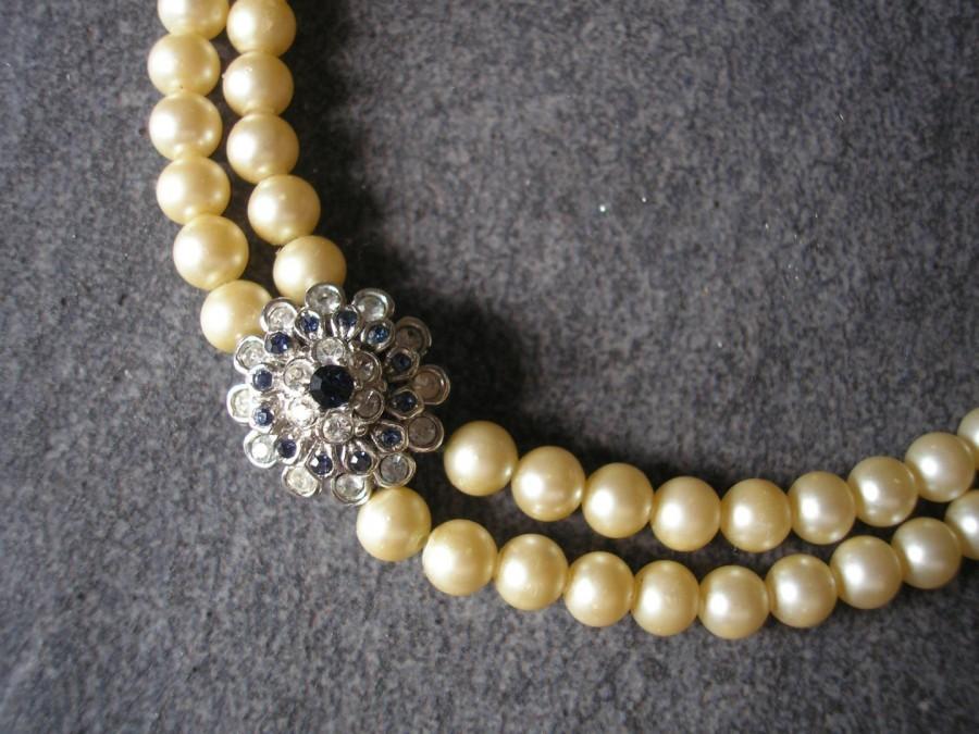 Wedding - Vintage A&S Pearl Choker