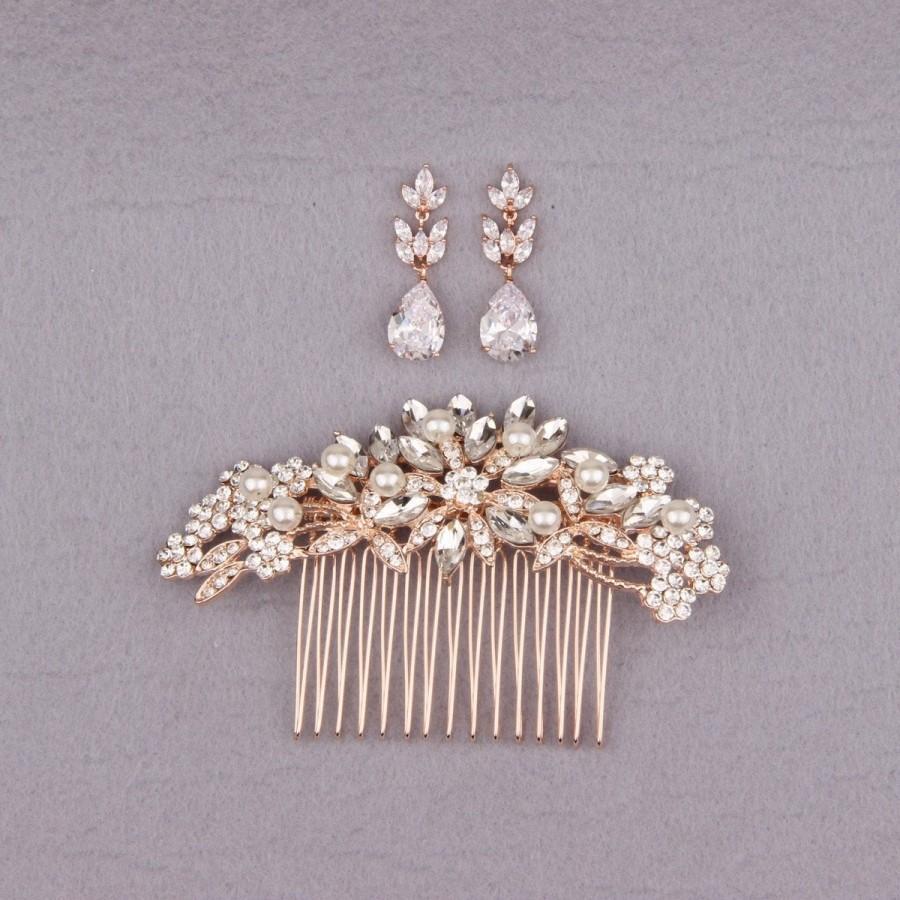 Mariage - Wedding Hair Accessories, Bridal Hair Comb, Bridal Hair Piece, Wedding Hair Piece, Wedding Hair Comb, Bridal Hair Accessories, Bride Comb