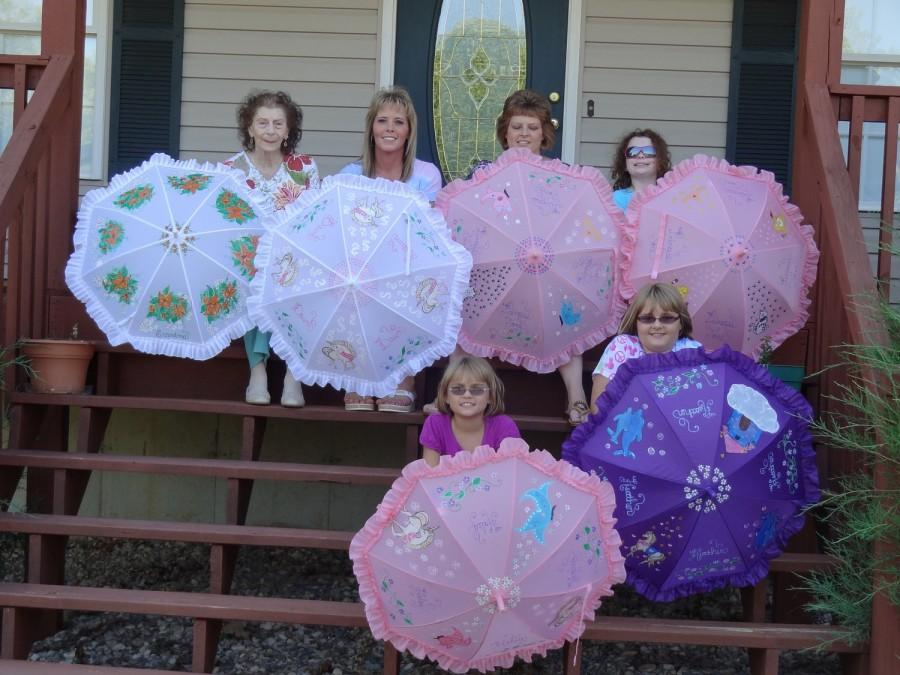 Mariage - Made to order,Parasol Umbrellas for Rain or Shine free shipping