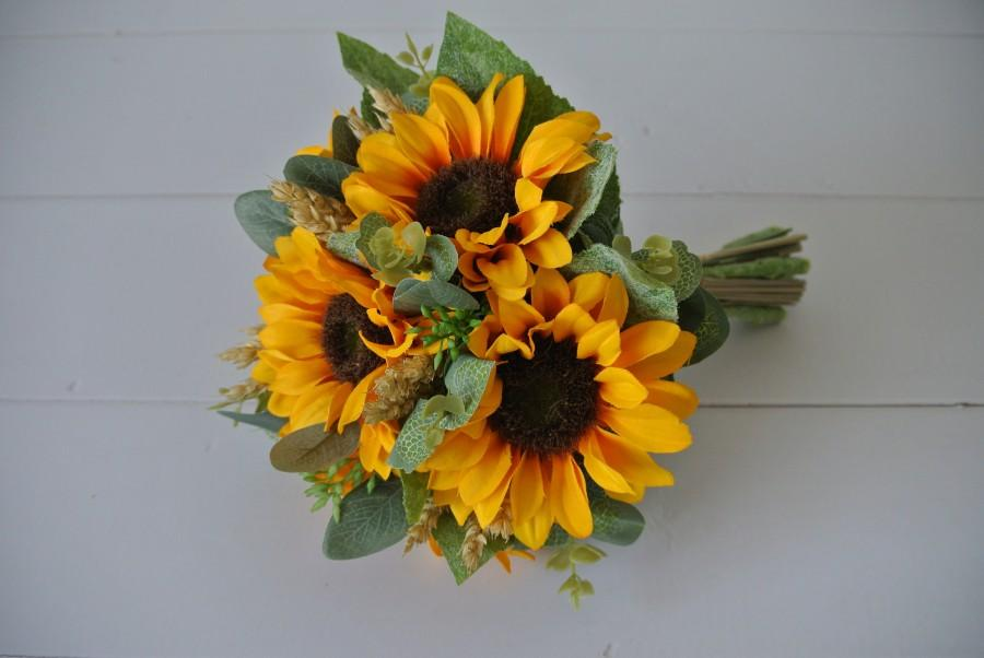 Wedding - Sunflower bouquet