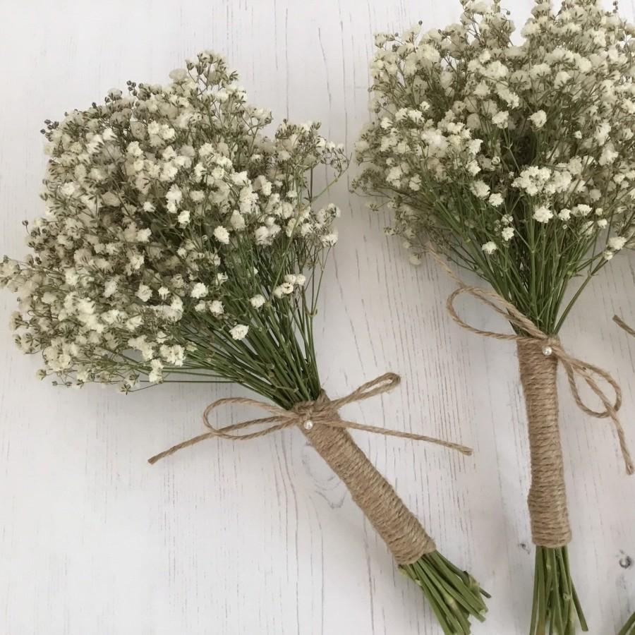Wedding - Dried flower bouquet