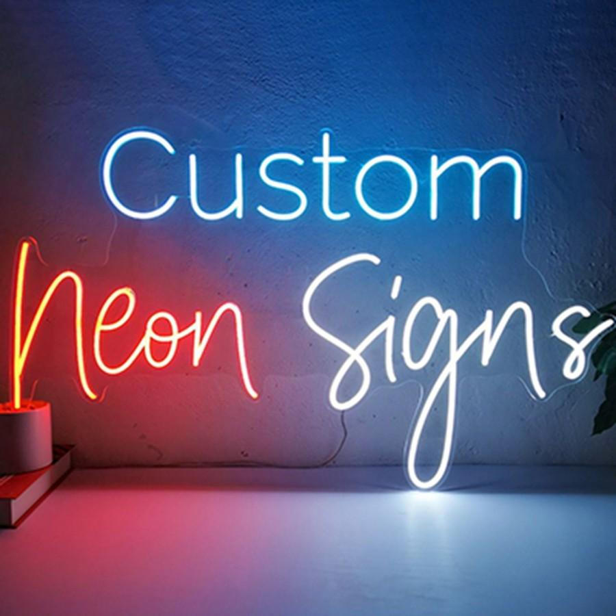 Свадьба - Personalize Flex LED Neon Signs Light for Wedding Party Home Decor Customize Neon Sign Bar Store Logo Neon Sign