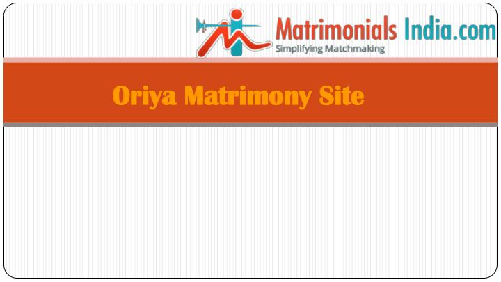 Свадьба - Oriya Matrimony Marriage