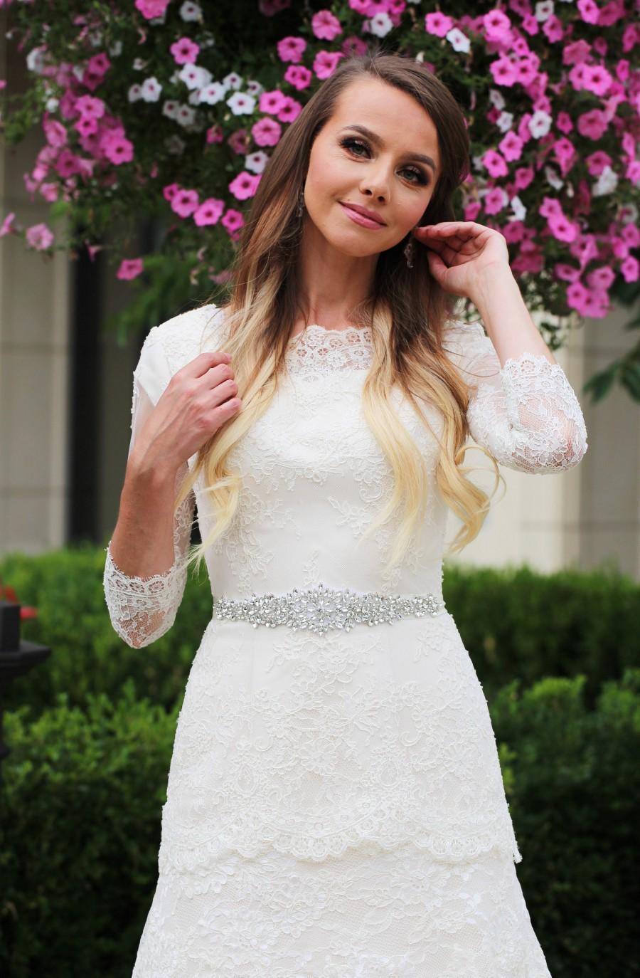 Mariage - Wedding belt  - bridal belt - bridal sash - wedding sash - rhinestone sash - crystal sash - rhinestone bridal belt - bridal sashes and belts
