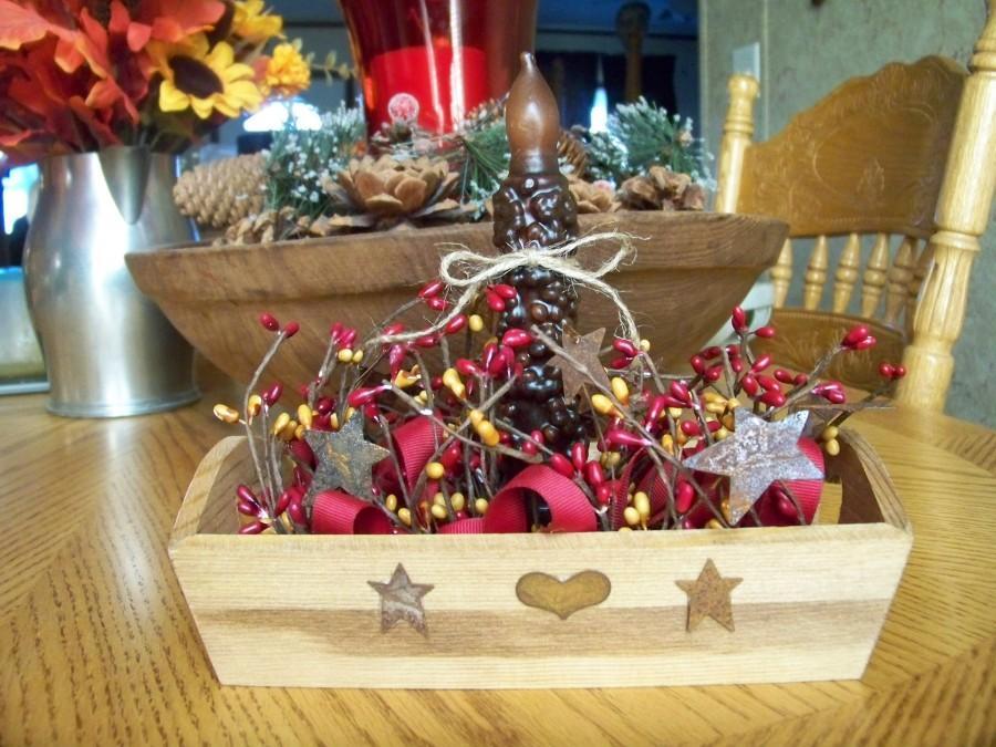Свадьба - Pip Candle Arrangement, Pip Candle Centerpiece, Pip Berry Arrangement, Battery Candle Arrangement, Farmhouse Decor, Country Decor,