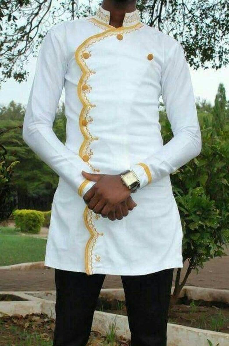 Wedding - African men's shirt, African men's clothing, men's  wedding  suit, dashiki men's shirt, men's African shirts, African shirts for men
