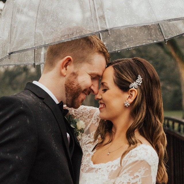 Wedding - Bridal Hair Clip, Crystal Flower Wedding Hair Clip, Hair Jewelry Hair Vine Wedding Hair Accessory, Crystal Floral Pin, Bridal Shower Gift