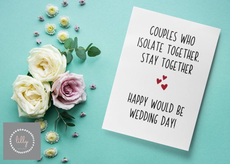 زفاف - Would be Wedding Day Card